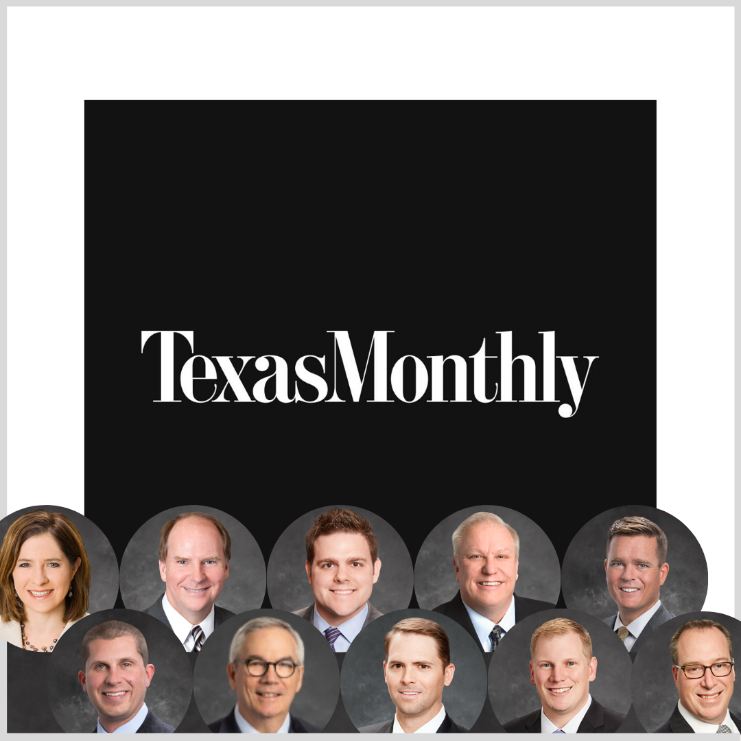 Texas Monthly 2019 5 Star Wealth Managers